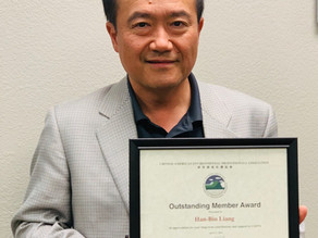 Congratulations to Dr. Liang, the 2019 CAEPA Outstanding Member!