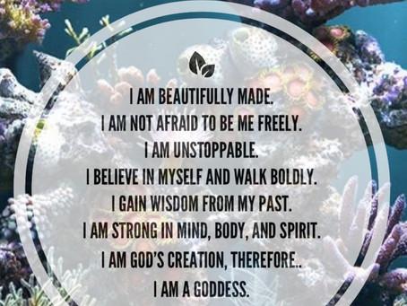 Goddess Affirmation