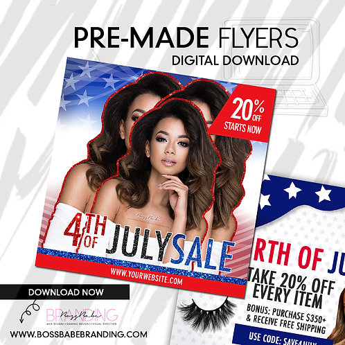4th of July Beauty Flyer Pack