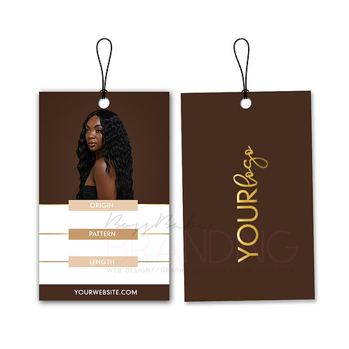 Pre-Made Melanin Monroe Hang Tags