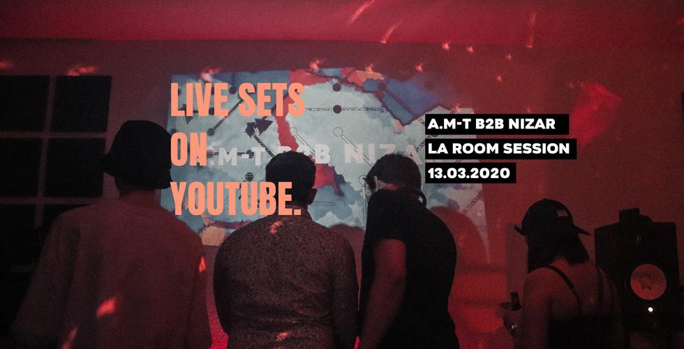 Live sets on youtube