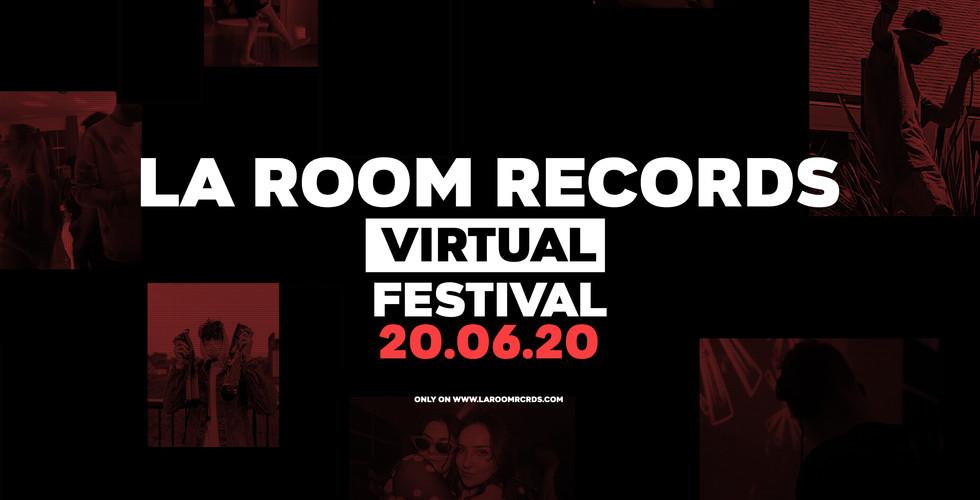 La Room Records - Virrtual Fest Banner.j