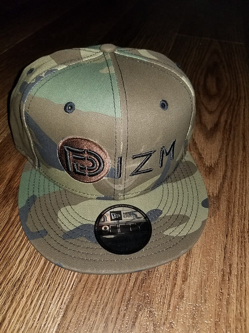 DZIM  Camo Baseball Snap back