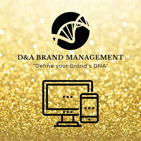 Gold Web Design Pkg
