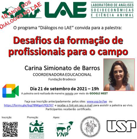 Cartaz_Dialogos_LAE_Carina_setembro_2021.png
