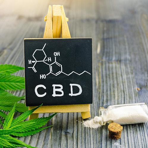 Premium CBD Isolate from Hemp, 1 gram