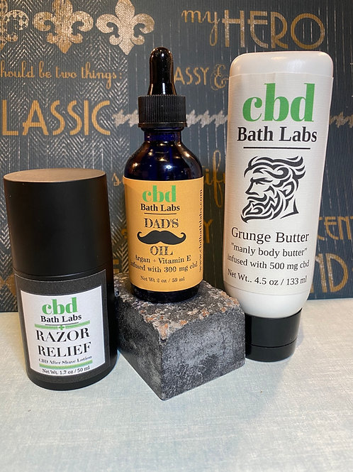 Razor Relief aftershave lotion, 300 mg cbd