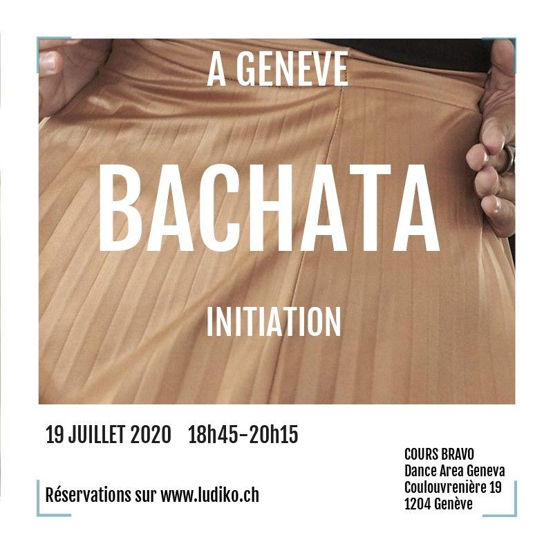Flyer Bachata 19 juillet 2020