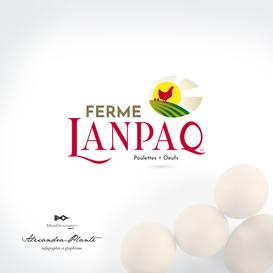 Logotype pour Ferme Lanpaq
