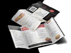 Dépliant menu Restaurant Qaisar's
