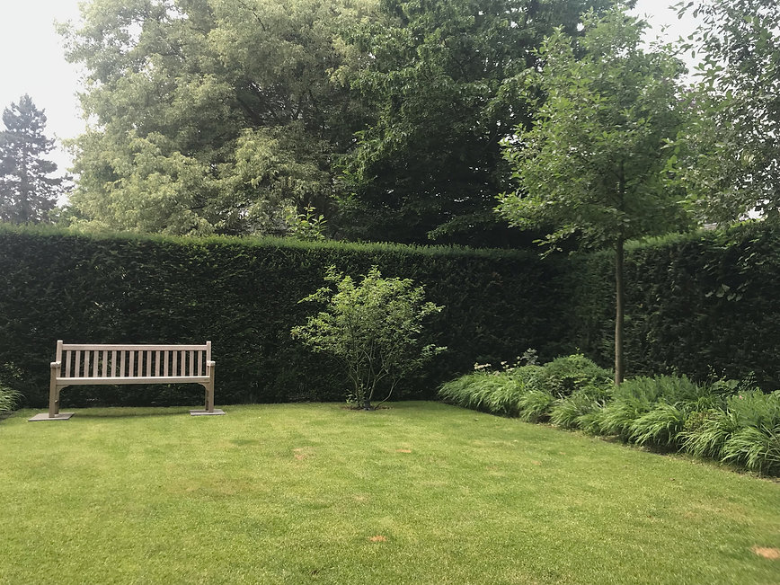 Modernes englisches Gartendesign, Ekvard Baar, Gartenplanung, Gartenentwurf, Gartenarchitektur