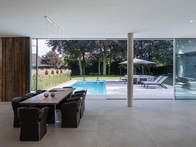 Pool, Gartendesign, Poolgarten, modern