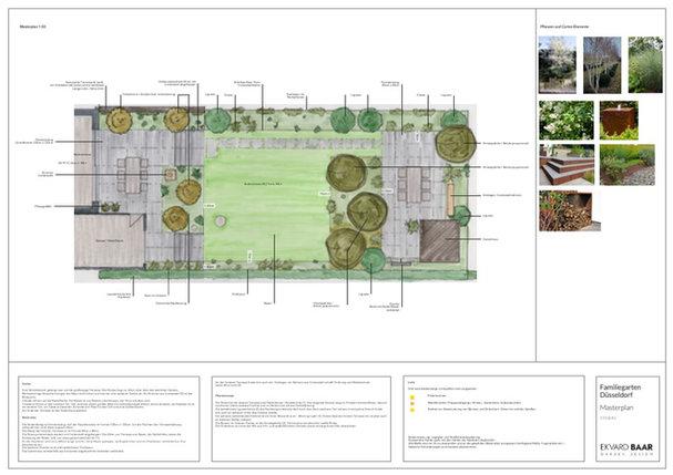 Gartenplan, Gartendesign, Gartenentwurf, Gartenarchitektur, Gartenideen, Düsseldorf, Masterplan