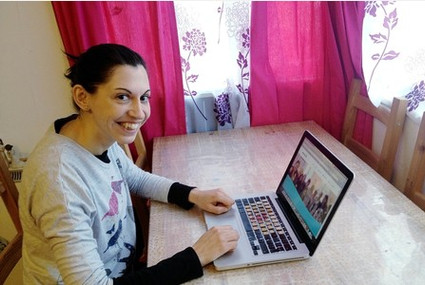 Sarah Eley's battle against illness featured in the Derby Telegraph - and opened so many doors f