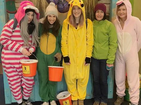 The Cheshire Cat, Pikachu, A Dinosaur & A Unicorn Raise £1187.75!