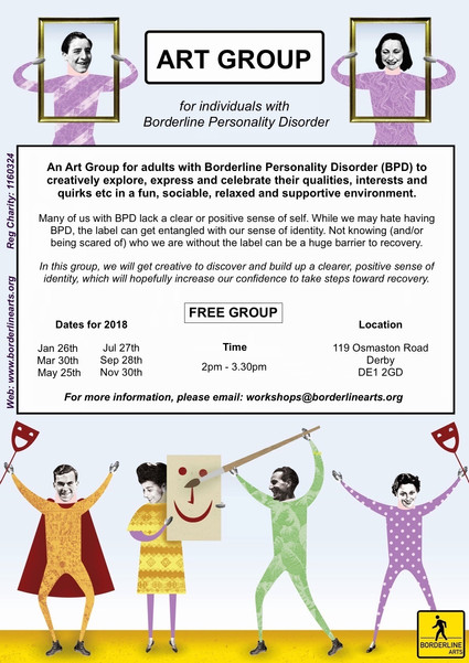 Art Group for Adults with BPD