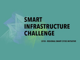 "NY Blue Tech is participating in Venture Smarter's national 2018 ""Smart Infrastructure Chal"