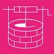 Baer Miriam Logo white on pink no border
