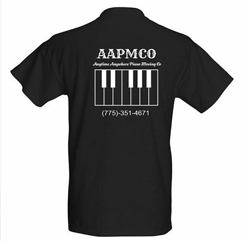 Aapmco Black and White Work Shirts Reno Piano Movers Reno Piano Moving