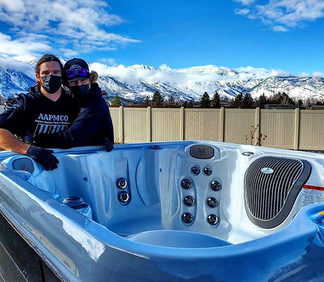 Hot tub movers. hot tub moving in reno.