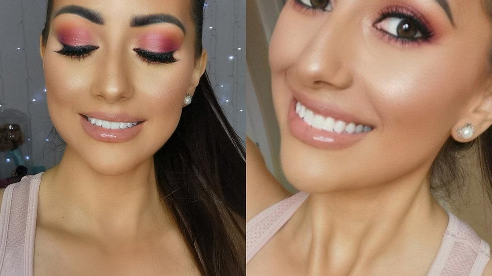 Maroon Makeup tutorial