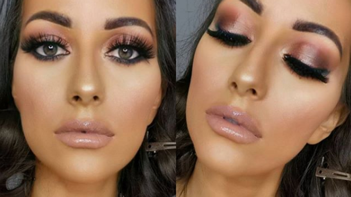 Glam Smokey eyes tutorial