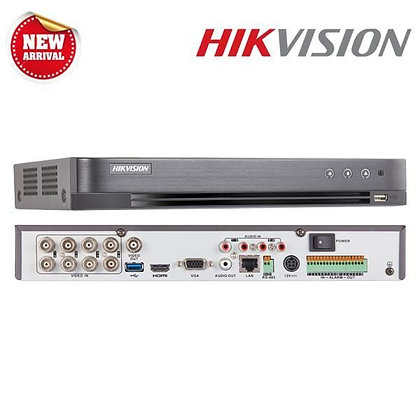 DVR Hikvision 8 canaux 5 MP 1U H.265