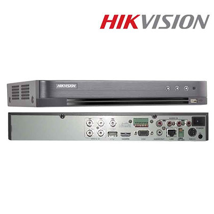 DVR Hikvision 4 canaux 5 MP 1U H.265 (DS-7204HUHI-K1)