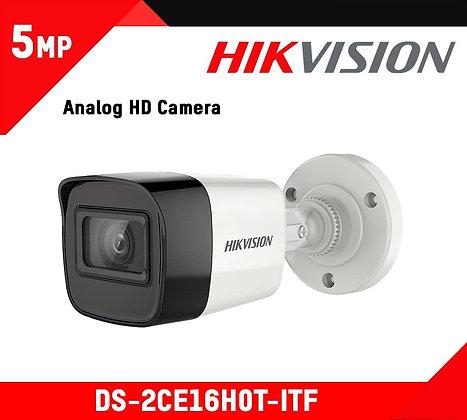 Caméra Hikvision Mini Bullet Fixe 5 MP (DS-2CE16H0T-ITF)