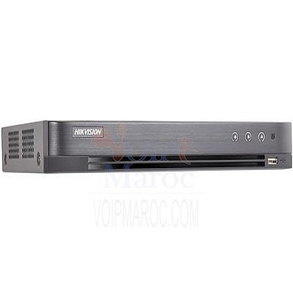 DVR Hikvision 16 canaux 5 MP 1U H.265