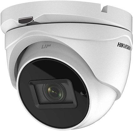 Caméra Hikvision à tourelle varifocale motorisée 5 MP