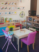 Toddler / Pre-School room and cosy reading area