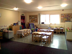 Toddler / Pre-school eating and art area