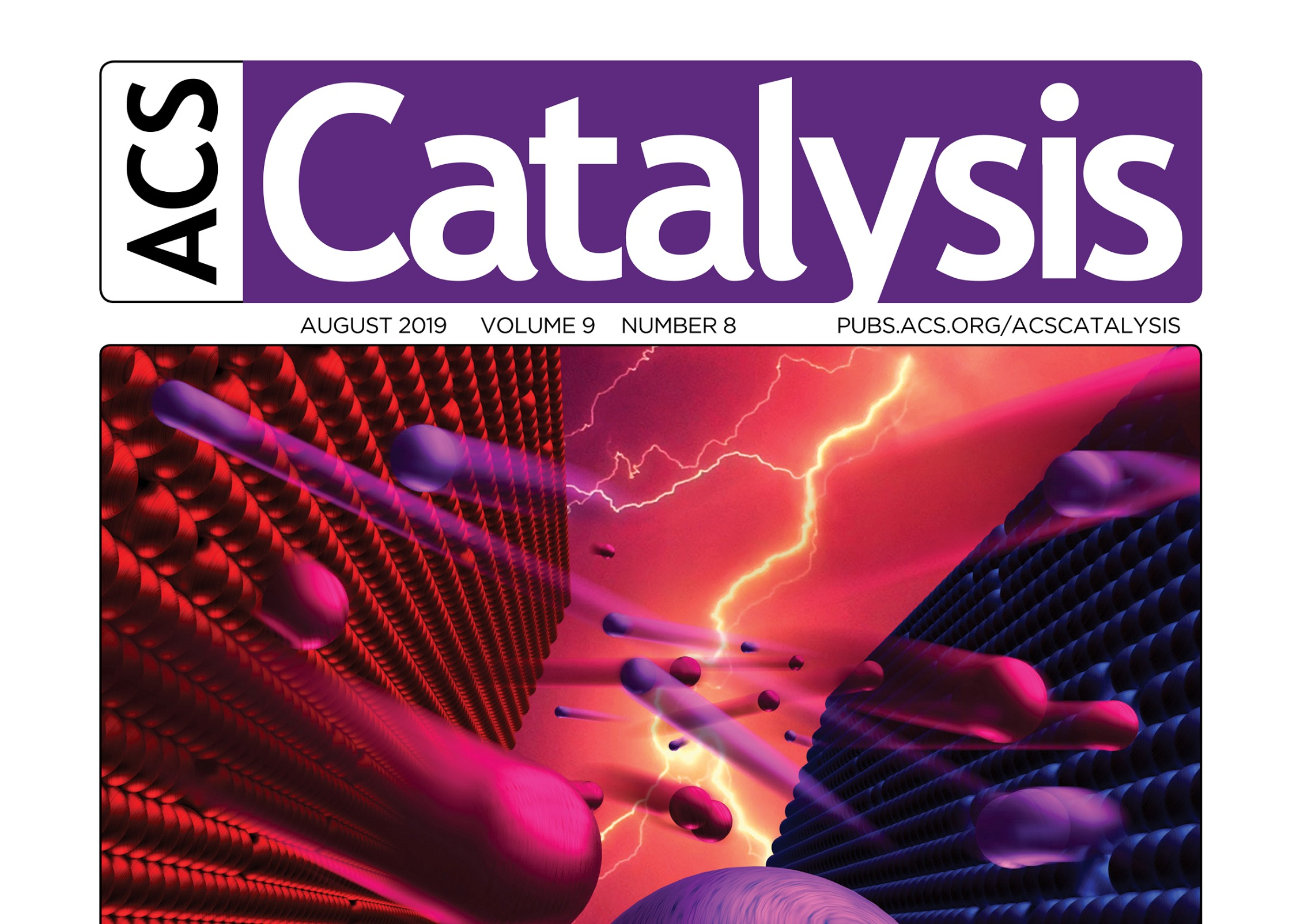Joint paper chosen as ACS Cover