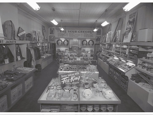 CCHM Postcards - Local Business - Goodrich Store 311 North Neil