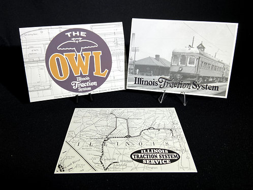 CCHM Postcards - Illinois Traction Collection
