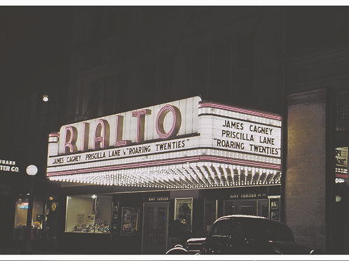 CCHM Postcard - Local Business Series - Rialto Theater
