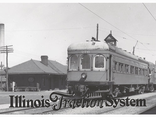 CCHM Postcards - Illinois Traction Car 276
