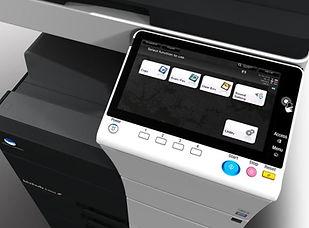 Copiadora Multifuncional Konica Minolta 100% Nueva de Paquete. Ùltima tecnología de impresión digital a color en Ecuador.