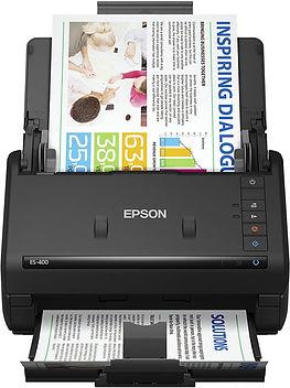 Scanner Documentos para oficina  Epson ES400 - Ideal para pequeños negocios de alimentación, repuestos automotrices, educación, abastos, farmacia y muchas otras aplicaciones.