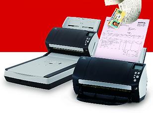 Escáner Digital para documentos profesional de alta carga de trabajo Fujitsu. Ideales para prouectos de digitalización documental para Ecuador.