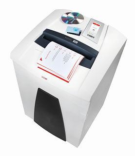 Destructora Industrial de Documentos para Oficina HSM 1881 P40 de 58 hojas por pasada y corte en tiras. HSM es una marca de procedencia Alemana.