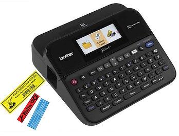 Rotuladora Orquilladora Digital Brother - Cinta laminada de nylon alta resistencia para uso de oficina o profesional. Equipo de impresión Digital.
