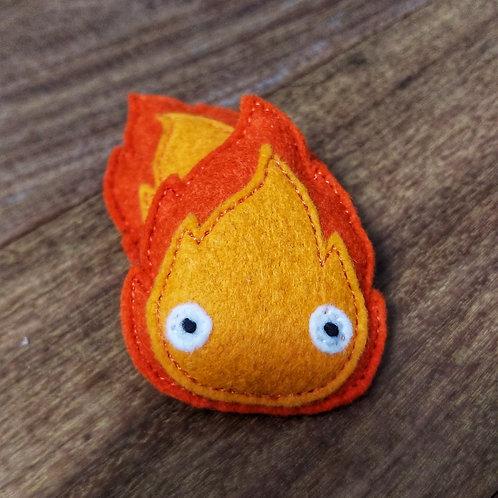 Calcifer Fire Magnet