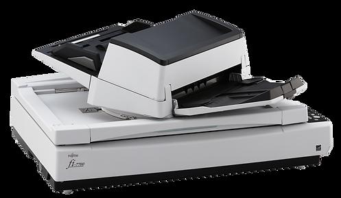 Fujitsu Fi7700 Escáner Scanner documentos A3 con Cama Plana. Ideal para lotes de digitalización Documental. Capacidad de hasta 44.000 documentos al día. Velocidad de 100 a 200 ppm. Disponibles en Quito, Ecuador por Innovaciones Tecnológicas S.A.