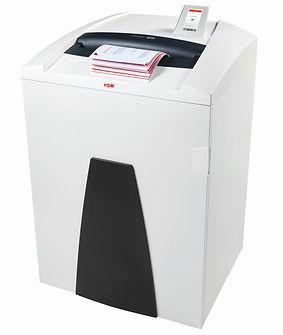 Destructora Industrial de Documentos para Oficina HSM 1873 P44 de 48 hojas por pasada y corte en partículas. HSM es una marca de procedencia Alemana.