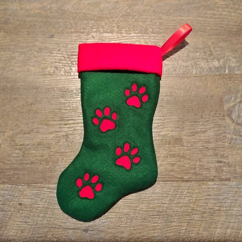 Paw Print Pet Stocking