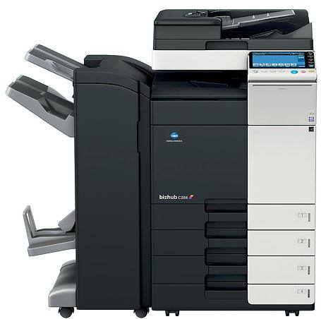 Copiadora remanufacturada multifuncional Color Konica Minolta BHC454. Equipo de impresión Digital en formato A3 A4 100% Remanufactura Certificado. Distribuidor en Ecuador.