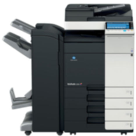 Copiadora remanufacturada multifuncional Color Konica Minolta BHC458. Equipo de impresión Digital en formato A3 A4 100% Remanufactura Certificado. Distribuidor en Ecuador.