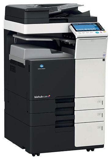 Copiadora remanufacturada multifuncional Color Konica Minolta BHC368. Equipo de impresión Digital en formato A3 A4 100% Remanufactura Certificado. Distribuidor en Ecuador.